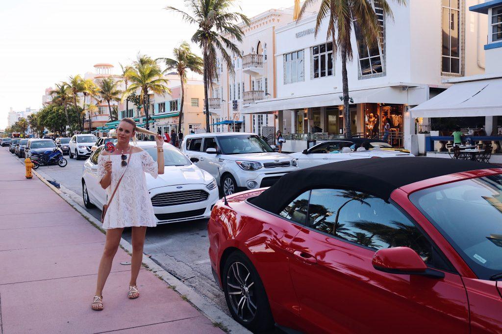 Ocean Drive Miami USA