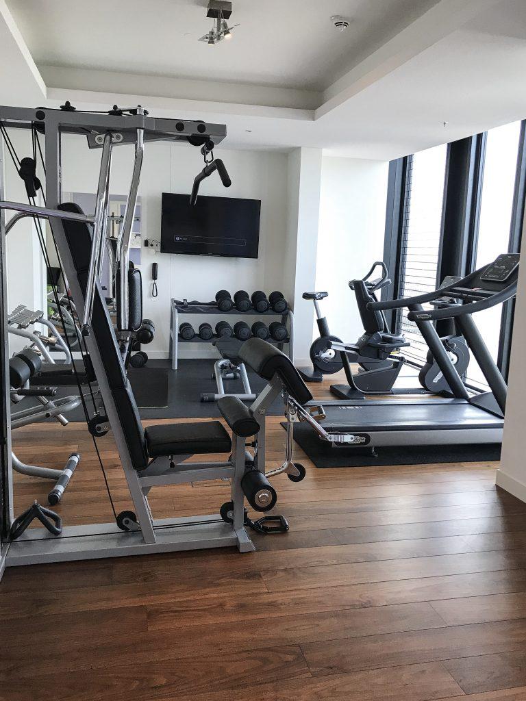 Fitnessraum Meliá Vienna