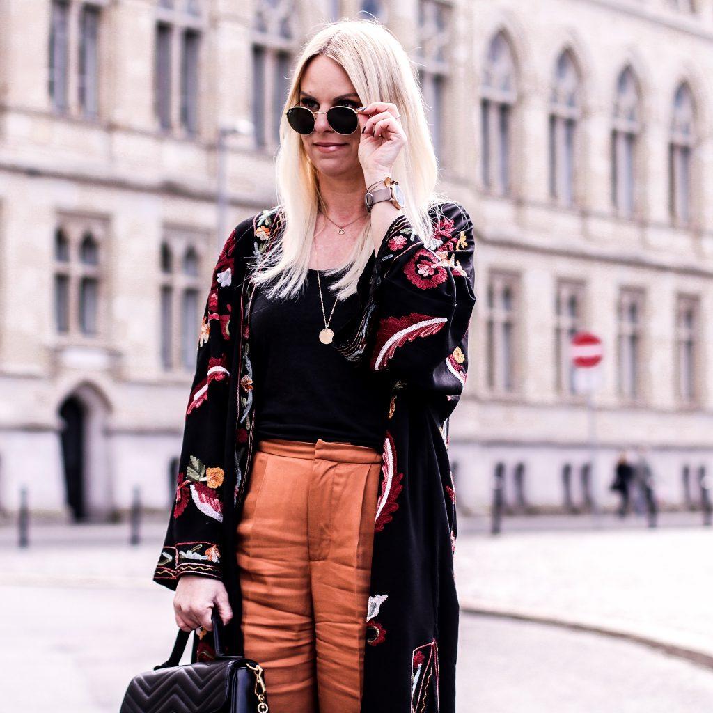 Zara Kimono mit Fransen