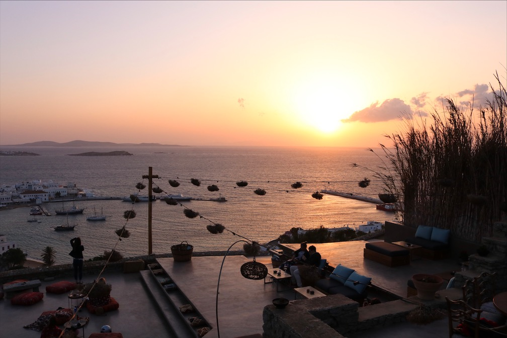 Sunset Mykonos