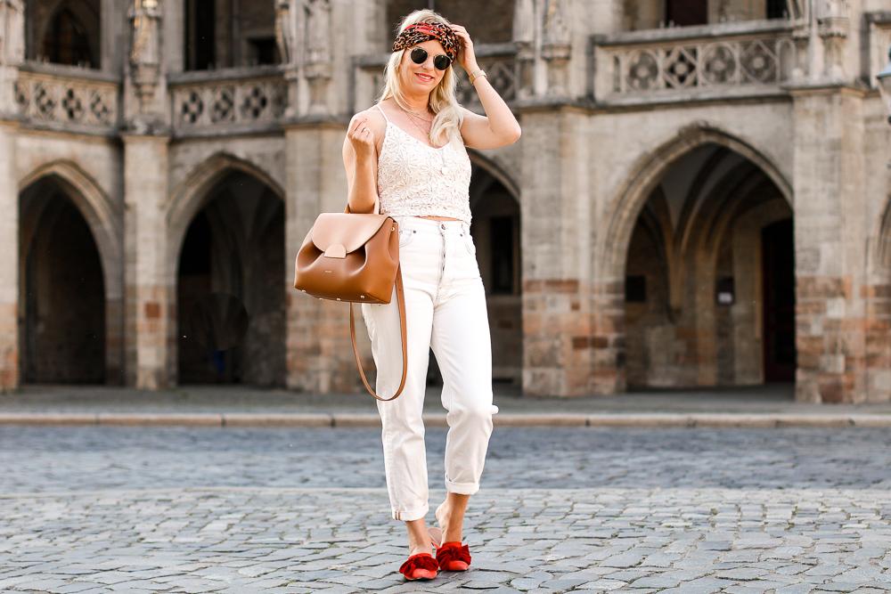 cropped lace top Zara