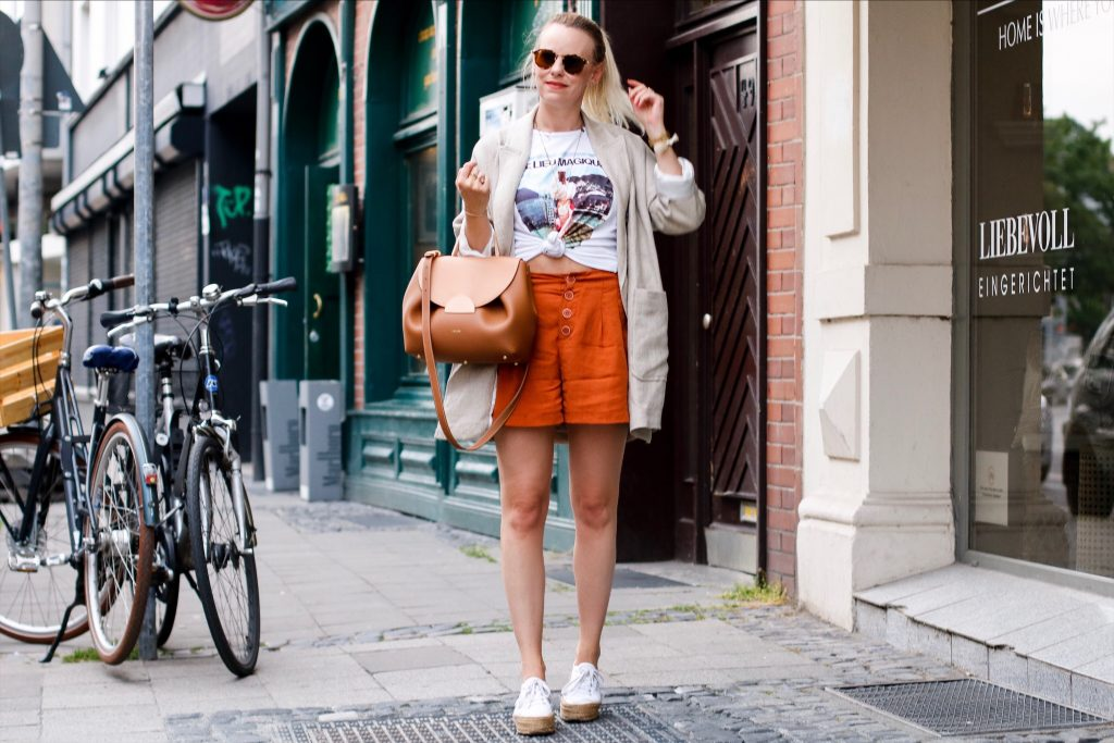 Zara Shirt Eiscreme