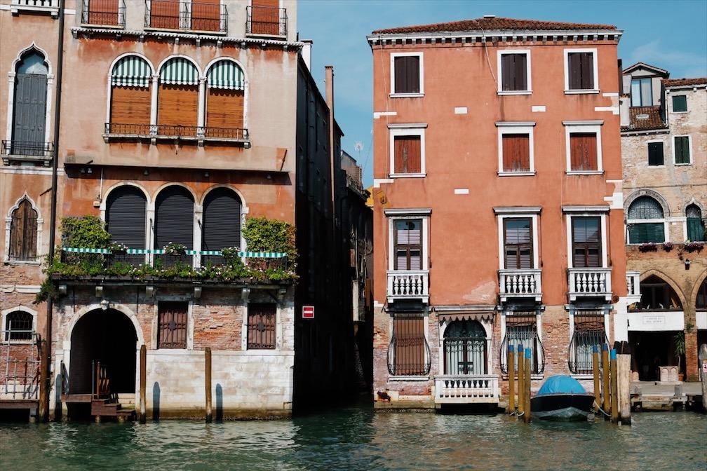 Kanal Venedig, Italien Citytrip