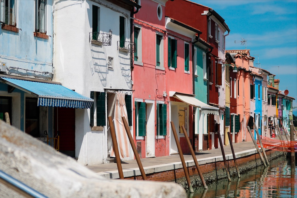 Italien, Blogpost Burano