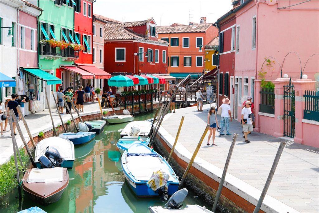 Italien, Venedig, Sommerurlaun Italien