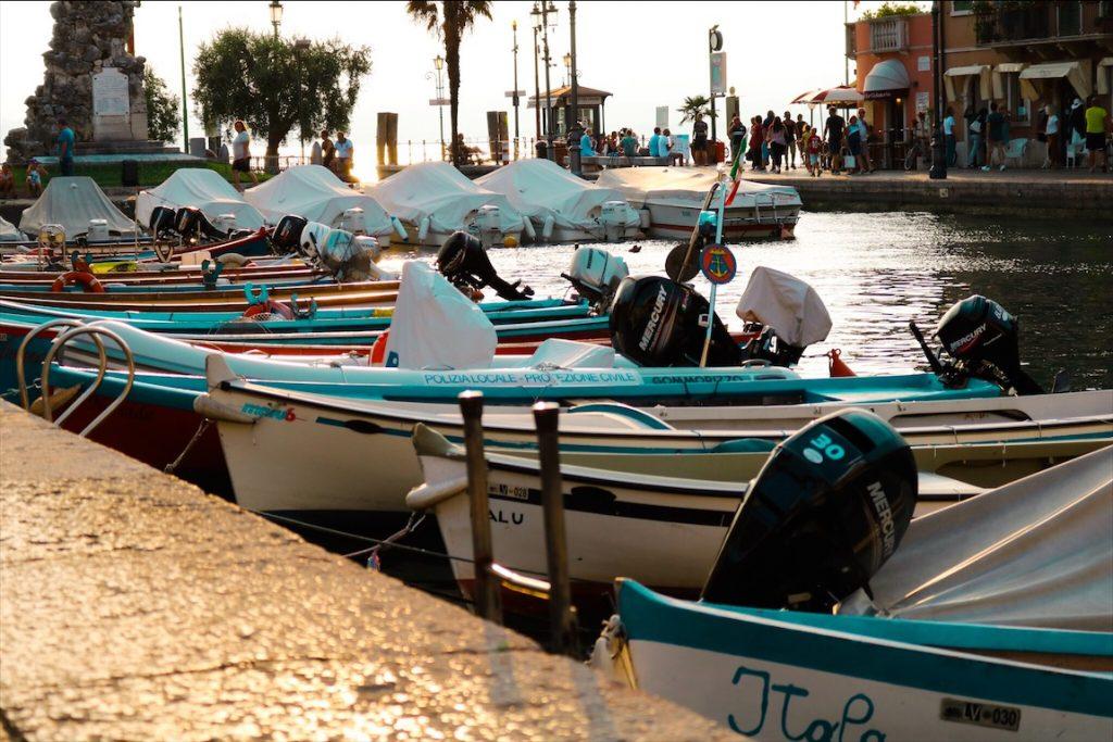 Gardasee Orte, Boote Gardasee