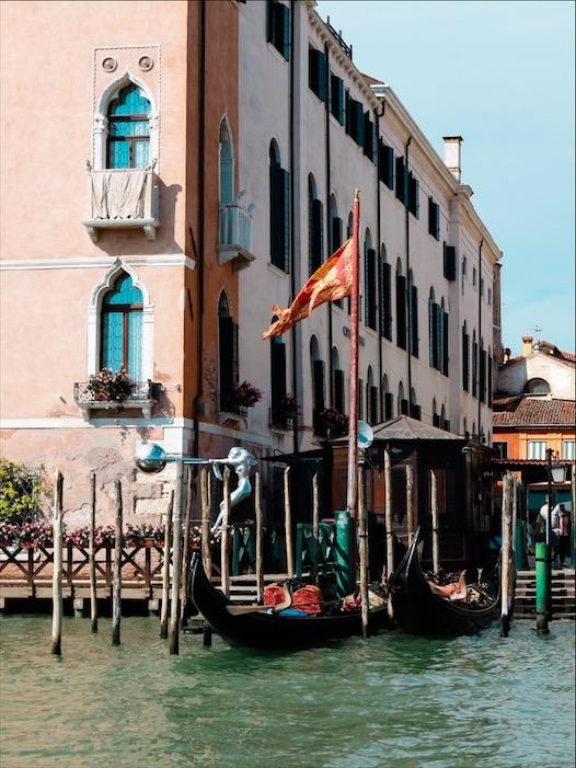 Canale grande Venedig, Italien