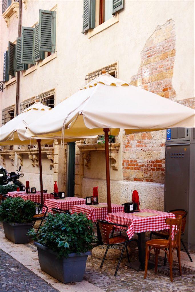 Streetview Verona, Pizza Verona