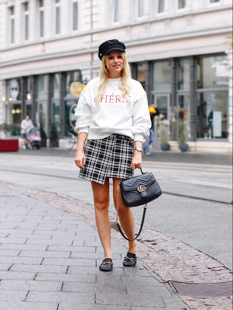 Sweatshiert Cherie Zara, Gucci Marmont, Karorock Zara